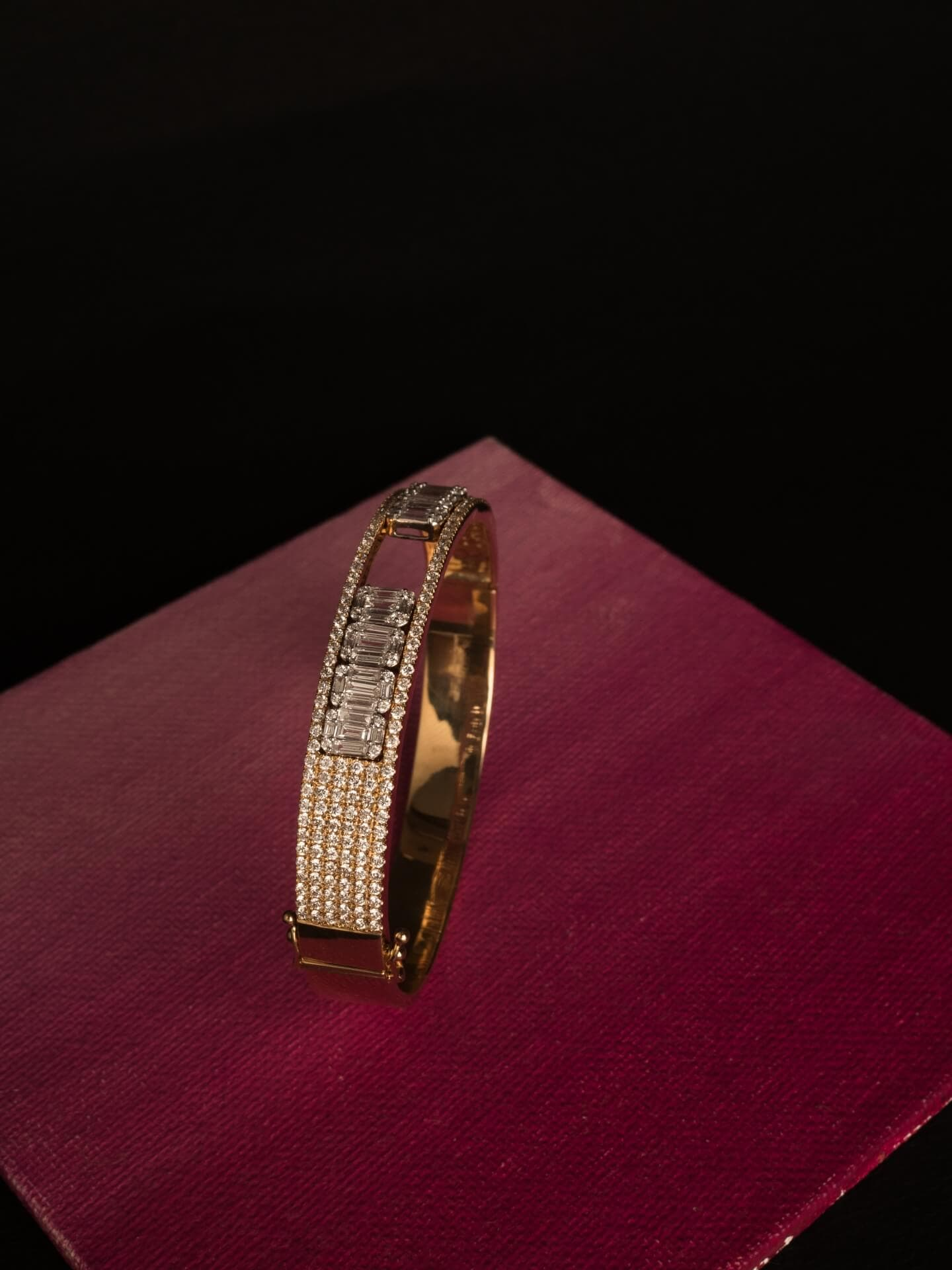 Sliding Diamond Bracelet